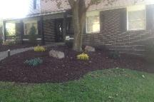 Landscaping, curb appeal, mulch